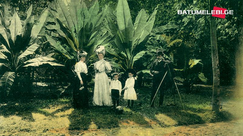 Оставленные на открытках следы оккупации и батумские фотографы
