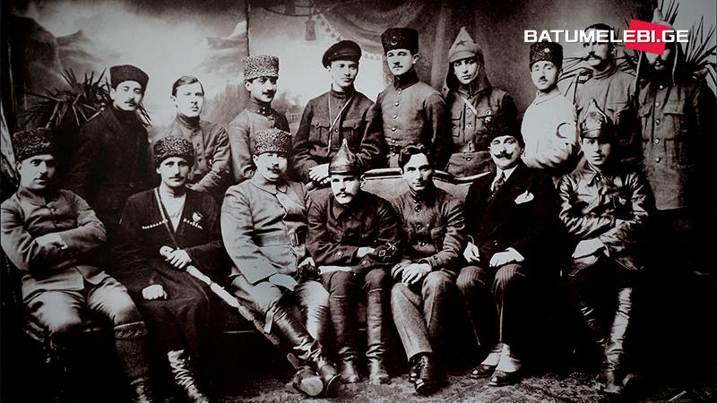 Март 1921 года в Батуми, по записям Мазниашвили и русского генерала