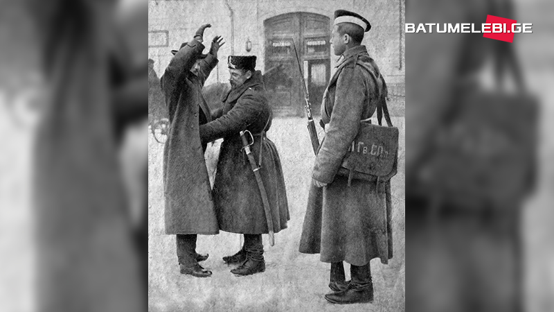 Арест редактора газеты «Батумис газети»
